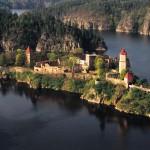 Гид в Праге. Из Праги в замок Орлик + замок Звиков
