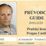 лицензия официального экскурсовода Пражского Кремля