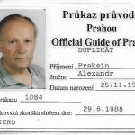 лицензия официального экскурсовода в Праге