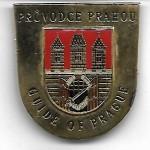 значок официального экскурсовода в Праге