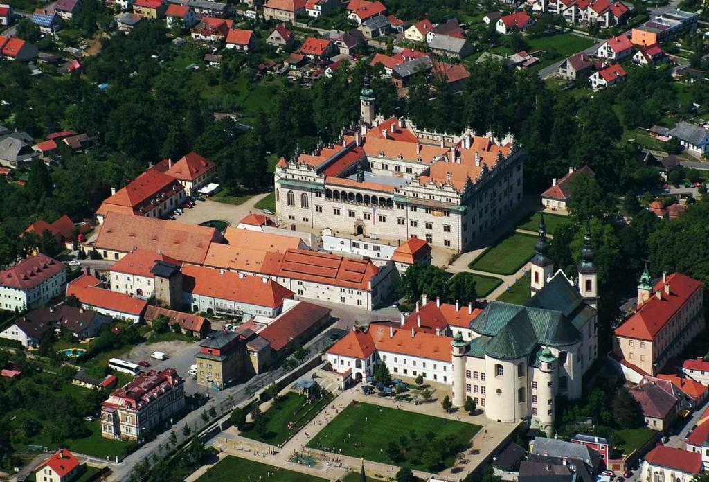 Замок-Литомышль-сверху